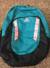 Adidas Load Spring Student Collegiate Back Pack Neon Pink And Blue