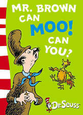 Mr.Brown Can Moo! Can You? by Dr. Seuss (Paperback, 2003) New Book