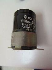 NO NAME CAPACITOR HCG F5A HCGF5A 1000 MFD 400 VDC 43 04 4304