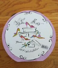 ROSANNA 4 HAUTE SHOES COLLECTION SALAD DECORATIVE PLATES NIB TRES CHIC OOH LA LA