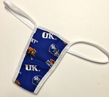 NEW UNIVERSITY OF KENTUCKY PRINT/PANTY/THONG LINED SMALL/MEDIUM 34-36 INCH HIP