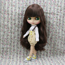 "New Arrival!12"" Neo Nude Brown Hair Matte Face Blythe doll From Factory  JS92010"