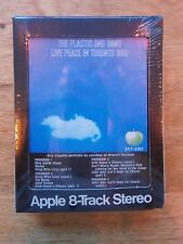 PLASTIC ONO BAND LIVE PEACE IN TORONTO APPLE 8-TRACK CARTRIDGE SEALED VINTAGE