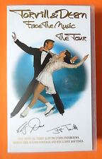 TORVILL & DEAN FACE THE MUSIC THE TOUR VIDEO VHS 1995 91 MINS ICE SKATING