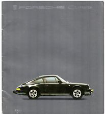 Porsche 911 1984-85 UK Market Sales Brochure 3.2 Carrera 3.3 Turbo