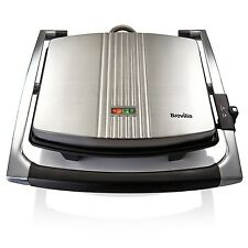 Sandwich and Panini Maker Breville Press Breakfast Grill Toaster Kitchen Family