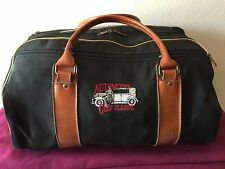 Vintage Travel Duffle Bag Overnight Luggage Carry Tote Automotive Golf Classic