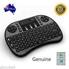 Genuine BLACK Rii i8 + mini Keyboard with touchpad for smart TV PC box