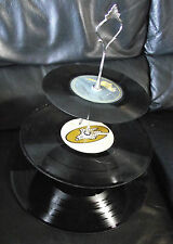 Unusual Funky Three Tier Cake Stand made from old Vinyl records