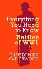 CHRISTOPHER CATHERWOOD __ IL BATTAGLIE DI MONDO WAR 1___ __
