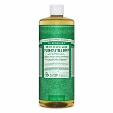 Dr. Bronner's Magic Soap 18-in-1 Hemp Almond Pure-Castile Soap 944ml Dr Bronners