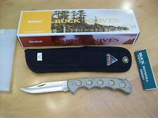 VINTAGE BUCK KNIFE 560 TITANIUM CRYSTAL~DISCONTINUED NOS 2001~ SIZE OF BUCK 110