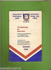 #D173. 1969 CENTRAL DISTRICT FOOTBALL CLUB, ADELAIDE, AANUAL REPORT