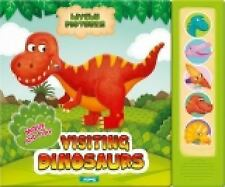 Lively Pictures: Visiting Dinosaurs by AZ Books Staff (2012, Board Book)