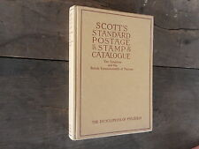 1951 Scott's Standard Postage Stamp Catalog Catalogue Volume 1 Vintage Book