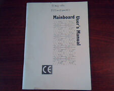 Mainboard MB Winco W-P55MVP User's Manual Guide