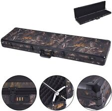 49 Long Aluminum Locking Rifle Gun Case Lock Shotgun Storage Box Carry Camo
