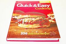 Books, Family Circle Quick & Easy Cooking, Volume 5 Coolbook, Recipes