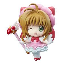 Card Captor Sakura Pink Dress Winking Petit Chara Land Trading Figure NEW