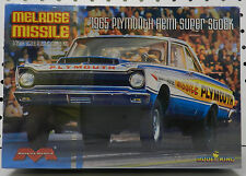 PLYMOUTH 1965 MELROSE MISSILE HEMI DRAG RACE SUPER STOCK MOPAR MOEBIUS MODEL KIT