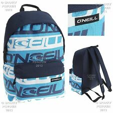 O'NEILL BLUE & WHITE BACKPACK MENS BOYS RUCKSACK SPORTS SCHOOL STUDENT BAG