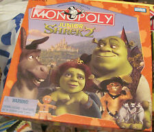 Monopoly Junior Shrek 2 game complete great condition