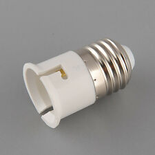 1pcs E27 Male to B22 Female Base LED Light Lamp Socket Adapter Bayonet 250V