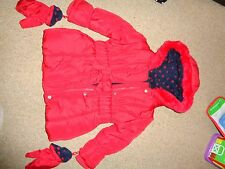 Fille hiver chaud manteau 1-2 ans