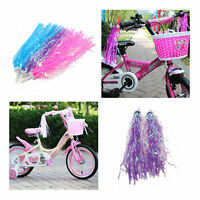Bicycle Bike Cycling Tricycle Kid Girl Handlebar Streamers Tassels 2 Pack GR