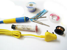 New Best Quality Genuine 25w Soldering iron Kit With Flux , Wire etc.