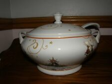 Williams Sonoma Twas The Night Before Christmas Tureen,lid,ladle-Soup-New
