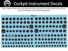 airscale Luftwaffe Cockpit Instrument Dial decals - 1/48 scale  AS48 LUFT