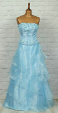 New Womens Vintage Victorian Style Dress Prom Evening Formal Ball Gown UK 6