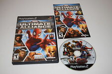 Marvel Ultimate Alliance Sony Playstation 2 PS2 Game Complete Tested