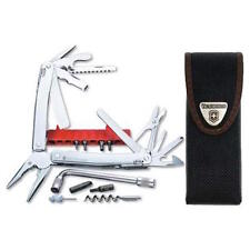 Victorinox Swiss Army Knife, Swisstool Spirit Plus With Wrench & Pouch 53804 NIB