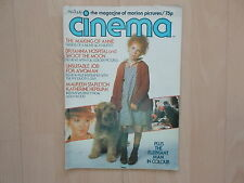 Cinema - The Magazine Of Motion Pictures Juli/1981 selten