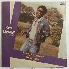 KENI GEORGE I Dont Wanna Miss You nigeria AFRO BOOGIE LP JAKE SOLLO VG+ NOS MP3