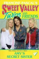 Amy's Secret Sister (Sweet Valley Twins)-ExLibrary