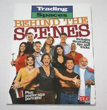 TLC'S TRADING SPACES BEHIND THE SCENES Includes decorating tips & tricks Book