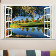 Nature Wonder landscape Home Decor Wall Art Picture Poster TV wall sticker decal