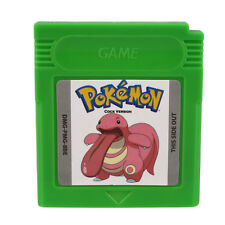 Pokemon GBC Cock Version Game Card For Game Boy Advance SP Gifts