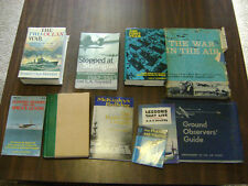 Lot of War 9 books  ***Look*** The Two-Ocean War, The First Team and More