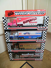 4x MATCHBOX CONVOY Kenworth & CROWN/GOODWRENCH/SUPERFLO/ALLIANCE - JOB LOT