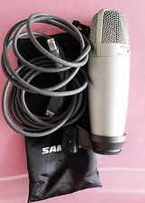 Samson C01U USB Studio Condenser Microphone with Mount, Cable, and Bag