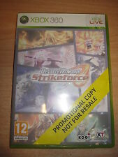 XBOX 360 VERSION PROMO DYNASTY WARRIORS STRIKEFORCE 1 JOUEUR OU 2-4 CO-OP