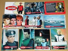 Captain Scarlet Cult 1960s UK TV Full Base Set of 54 Trading Cards - Unstoppable