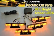 RECOVERY SECURITY EMERGENCY VAN CAR JEEP AMBER FLASHING LED LIGHT KIT