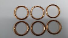 EXHAUST GASKETS SET HONDA 1500 F6C VALKERIE  X 6 NEW F6 C