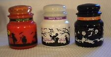 3 NEW Yankee Candle 14.5 oz Halloween Candy Corn Ghostly Treats Witches Brew