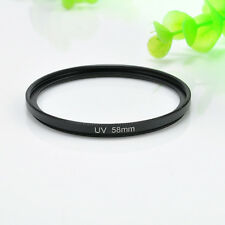 58mm Cool Circular Polarizing UV Filter Lens Protector For Canon Nikon 18-55mm